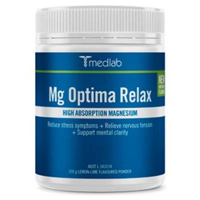 MG OPTIMA RELAX LEMON & LIME 300g