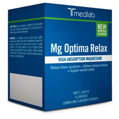 MG OPTIMA RELAX LEMON & LIME PACK 10sch