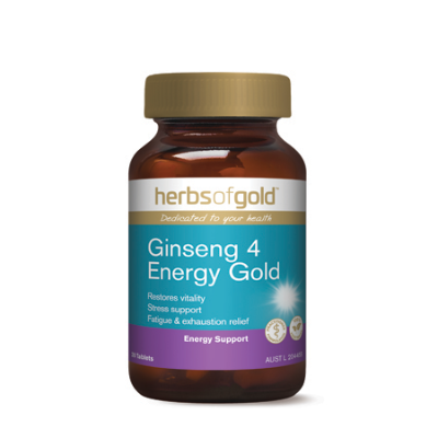 GINSENG 4 ENERGY GOLD 30Tabs complex