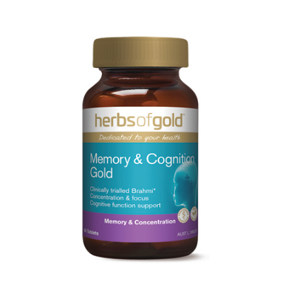 MEMORY & COGNITION GOLD 60Tabs *TEMP UNAVAILABLE* complex