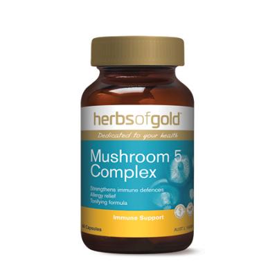 MUSHROOM 5 COMPLEX 60Caps complex