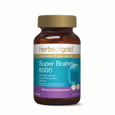 SUPER BRAHMI 6000 60Tabs Bacopa