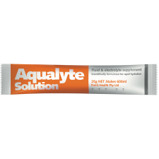 AQUALYTE ORANGE 25g x 24 sch *DISC* Sucrose