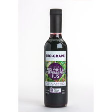 ORGANIC RED WINE AND PEPPERBERRY JUS 350ml