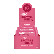 KETO BROWNIE BITE BERRY 33g 10pk