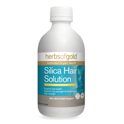 SILICA HAIR SOLUTION- LEMON CITRUS 500ml