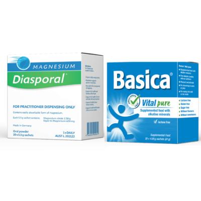 MINERAL MAINTENANCE PACK BASICA PURE & DIASPORAL