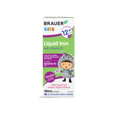 KIDS LIQUID IRON WITH VITAMIN B 200ml *TEMP UNAVAILABLE*