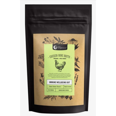 CHICKEN BONE BROTH GARDEN HERB 1Kg *COMMIT TO PURCHASE* *TEMP UNAVAILABLE*