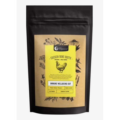 CHICKEN BONE BROTH TURMERIC 1Kg *COMMIT TO PURCHASE* *TEMP UNAVAILABLE*