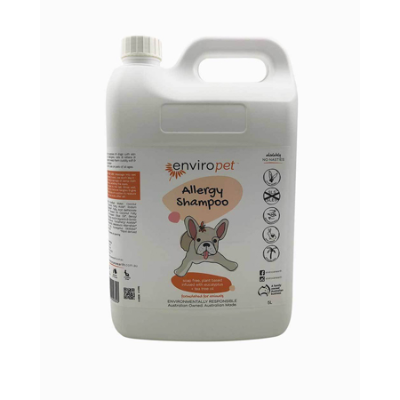 PET ALLERGY SHAMPOO 5L *COMMIT TO PURCHASE*