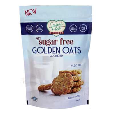 SUGAR FREE GOLDEN OATS COOKIE MIX 270g (BX6)
