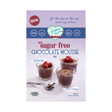 SUGAR FREE CHOCOLATE MOUSSE MIX 180g (BX6)