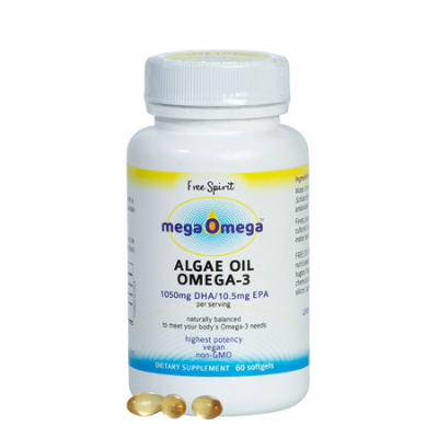 MEGA OMEGA  ALGAE OIL 60Scaps