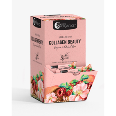 COLLAGEN BEAUTY VANILLA BERRY BAR 30g 30pk