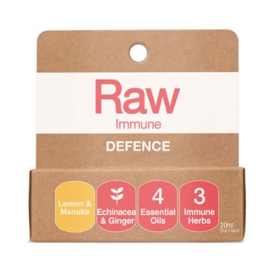 RAW IMMUNE DEFENCE SPRAY LEMON & MANUKA 20ml