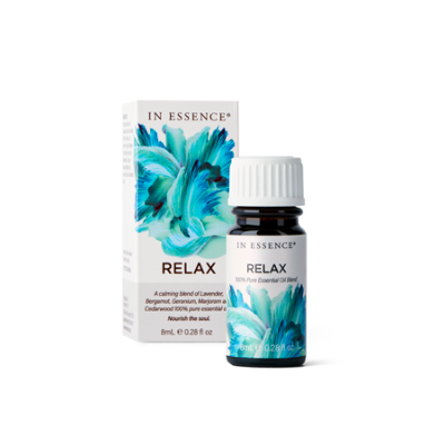 RELAX PURE ESSENTIAL OIL BLEND 8ml