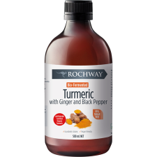 BIO FERMENTED TURMERIC WITH GINGER & BLACK PEPPER 500ml *TEMP UNAVAILABLE*