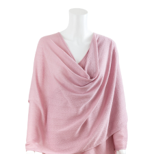 NURSING COVER TEXTURED KNIT PINK