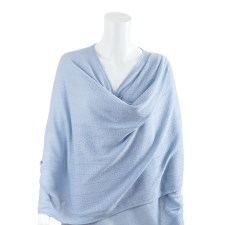 NURSING COVER TEXTURED KNIT BLUE