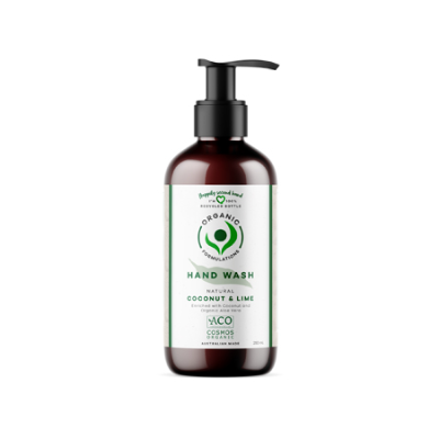 COCONUT AND LIME HAND WASH 250ml