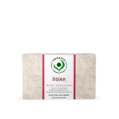 ROSE GERANIUM SOAP 100g