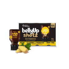 BELLYUP SHOTZ ORGANIC GINGER 6 x 50ml