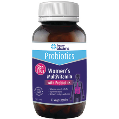 WOMENS MULTIVITAMIN WITH PROBIOTICS 30Vcaps