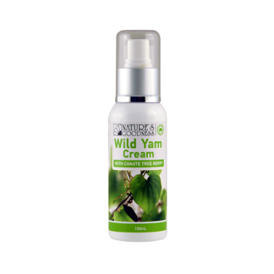 WILD YAM CREAM WITH CHASE TREE BERRY 100ml