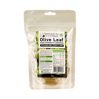 OLIVE FRUIT ANTIOXIDANT LOZENGES 200G