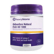 ODOURLESS NATURAL FISH OIL 1000mg 400Caps Fish Oils