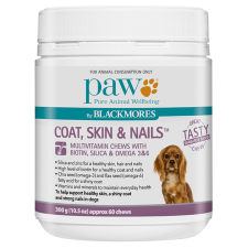 COAT, SKIN & NAILS MULTIVITAMIN CHEWS 300g