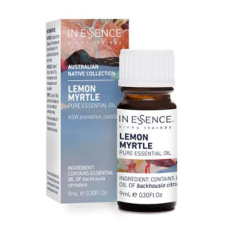AUSTRALIAN NATIVE LEMON MYRTLE PURE ESSENTIAL OIL 9ml