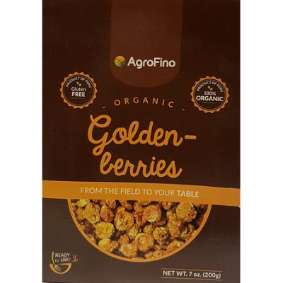 ORGANIC GOLDEN BERRIES 200g (BX16)