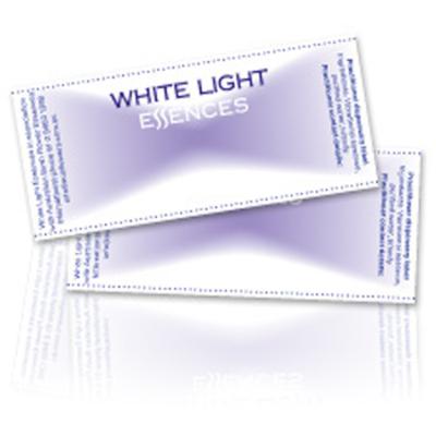 WHITE LIGHT BLANK LABELS 25pk
