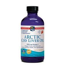 STRAWBERRY ARCTIC COD LIVER OIL 237ml Fish Oils