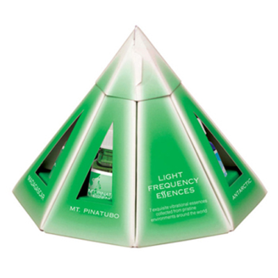 LIGHT FREQUENCY PYRAMID PACK 7x10ml *COMMIT TO PURCHASE*