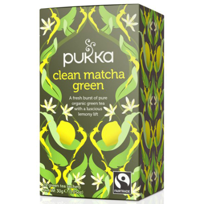 CLEAN MATCHA GREEN TEA 20pk