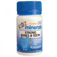 KIDZ MINERALS STRONG BONES & TEETH 100Tabs