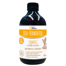 BIO FERMENTED TURMERIC WITH GINGER AND BLACK PEPPER 500ml