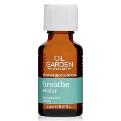 BREATHE EASIER ESSENTIAL OIL BLEND 25ml