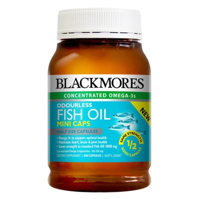 ODOURLESS FISH OIL MINI 400Caps