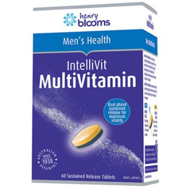 INTELLIVIT MENS MULTIVITAMIN 60Tabs COMPLEX
