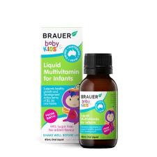 BABY & KIDS LIQUID MULTIVITAMIN FOR INFANTS 45ml