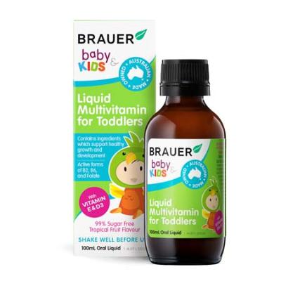 BABY & KIDS LIQUID MULTIVITAMIN FOR TODDLER 100ml