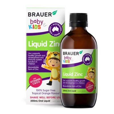 BABY & KIDS LIQUID ZINC 200ml