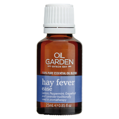 HAY FEVER RELIEF ESSENTIAL OIL BLEND 25ml