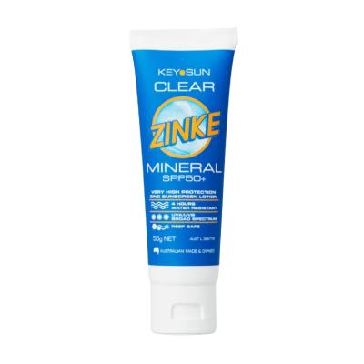 CLEAR ZINKE SPF50+ 50g
