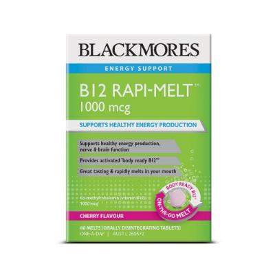 B12 RAPI-MELT 1000mcg 60Ctabs