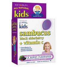 KIDS SAMBUCUS + VITAMIN C LOZENGE ON A STICK 12pk